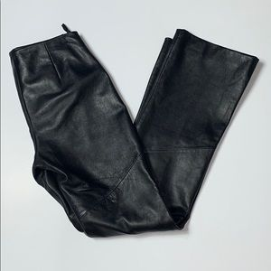 Wilsons Leather Pelle Studio Leather Pants Size 4